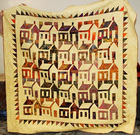 Cathy Izzo's School House Quilt