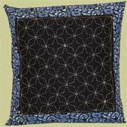 sashiko pillow sample