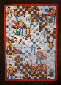 Featured Teacher at The City Quilter in New York City : cowboy quilt - Adamdwight.com