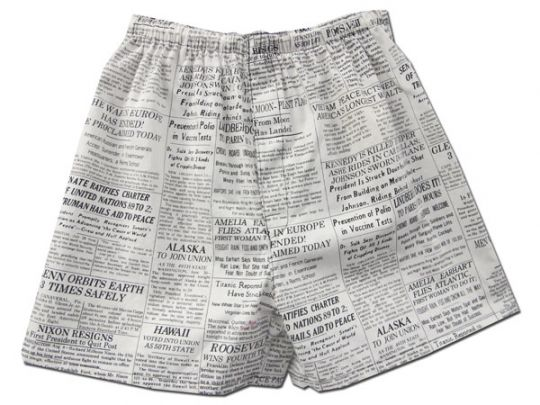 Subway Map Boxer Shorts.City Quilter Boxers Headliner